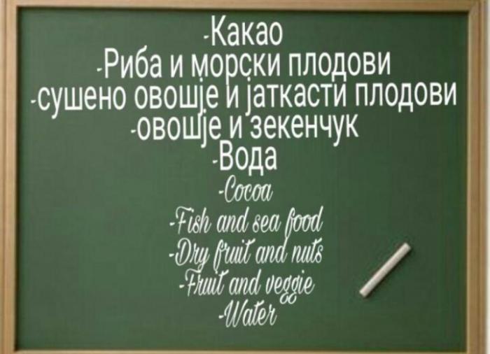 Студентите и исхраната